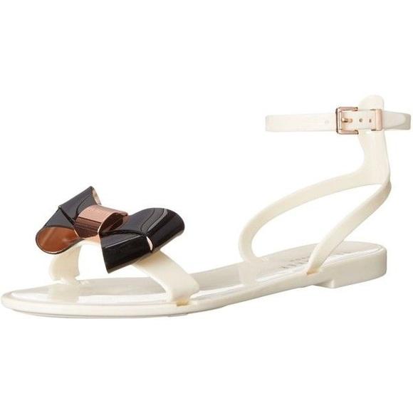 7ffc57076e4cb New Ted Baker louwla sandals in cream